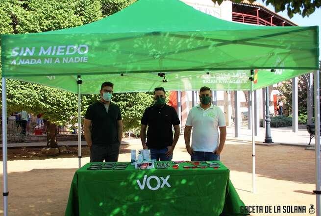 Vox planea constituirse como partido político en La Solana