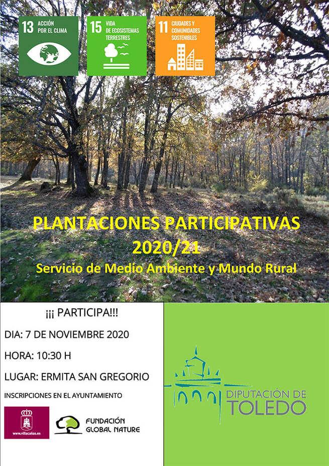 Organizada en Villacañas una plantación participativa de vegetación autóctona en la zona de San Gregorio