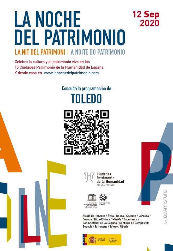 Toledo, junto al resto de ciudades españolas Patrimonio de la Humanidad, celebra este sábado La Noche del Patrimonio