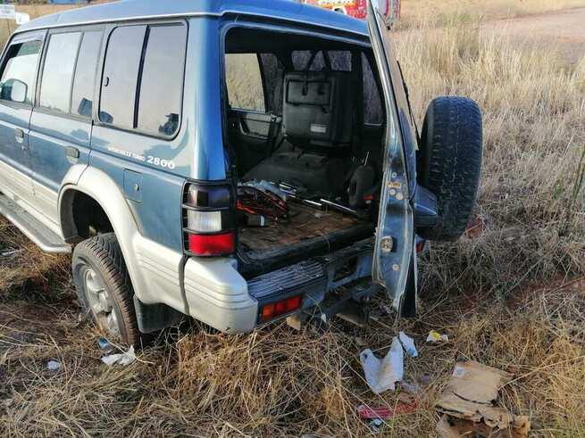 Herido el conductor de un turismo tras salirse de la vía en Alcázar de San Juan