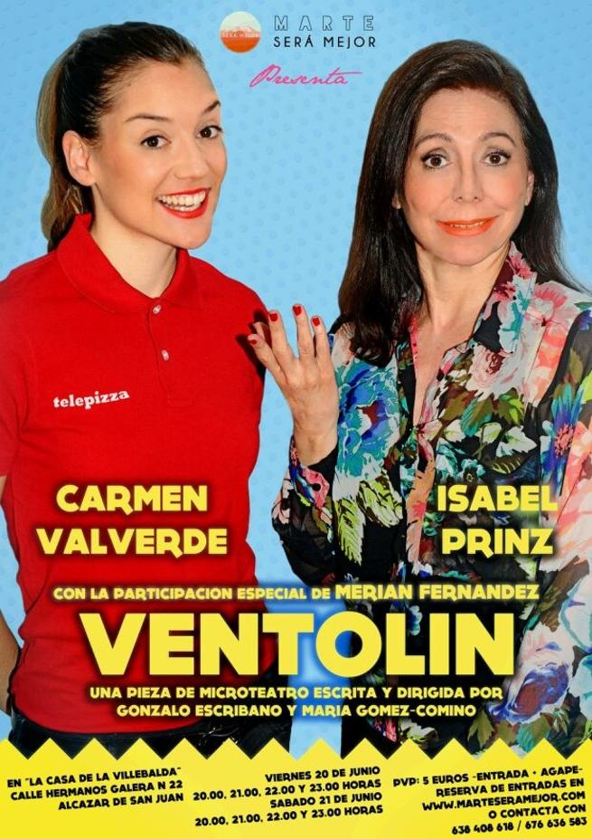 """imagen de El microteatro regresa a Alcázar de San Juan con la obra """"Ventolín"""""""