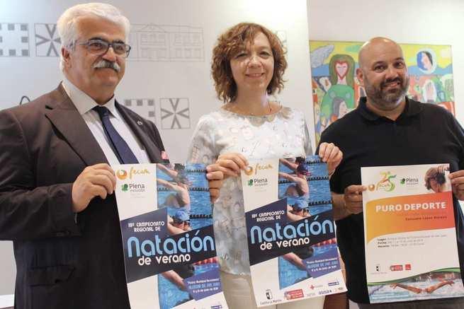 Alcázar vuelve a acoger a los deportistas de FECAM con la celebración del 18º Campeonato de Natación de Verano