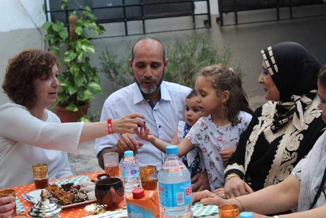 La alcaldesa en funciones de Alcázar compartió el final del Ramadán con la comunidad musulmana