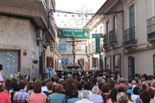 Fuerte calor en la Fiesta del Cristo del Amor de La Solana, que alcanzó una recaudación de 9.271 euros