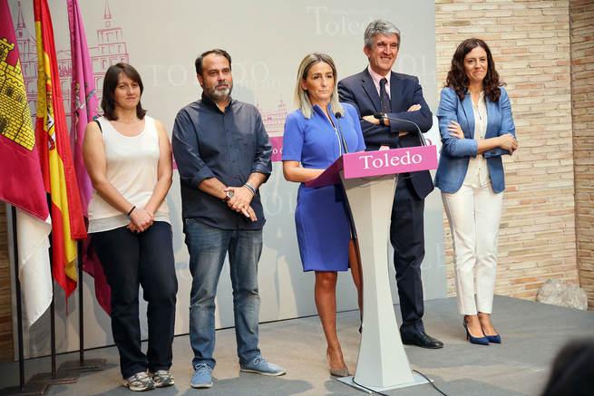 La alcaldesa de Toledo anuncia un Plan de Inversiones de 3,6 millones de euros con mejoras en todos los barrios de la capital