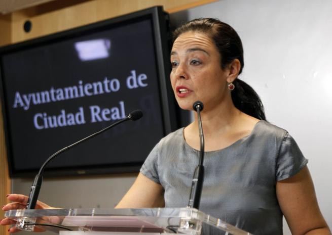 """Imagen: Pilar Zamora: """"El Ayuntamiento de Ciudad Real es hoy más transparente, más participativo y más social"""""""