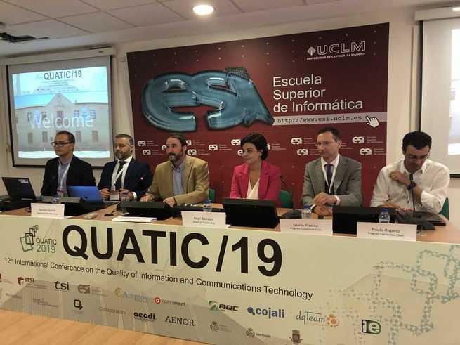 """La alcaldesa de Ciudad Real inaugura la conferencia internacional """"quatic"""""""