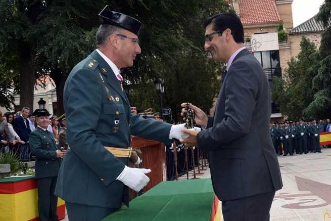 La Guardia Civil reconoce el trabajo conjunto con la Diputación de Ciudad Real para lograr una provincia más segura