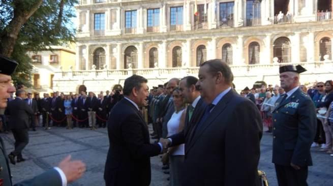 El Director General de la Guardia Civil inaugura en Toledo los actos conmemorativos de la festividad de la Patrona del Cuerpo