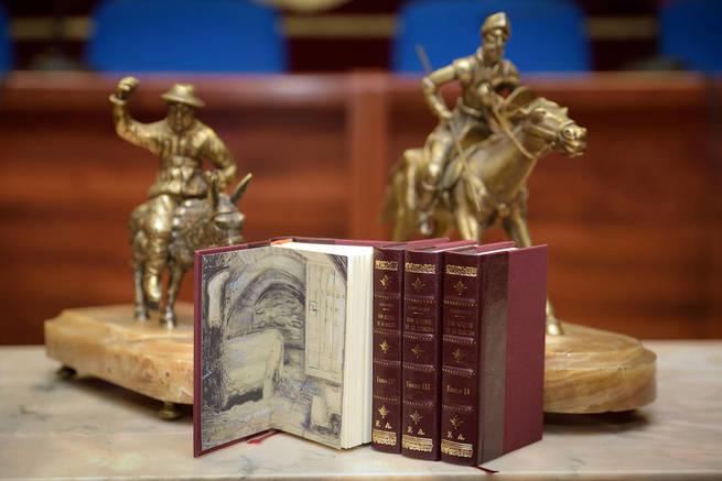 Ya está a la venta la edición facsímil del Quijote de Rivadeneyra