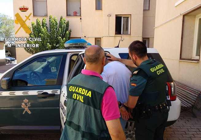 La Guardia Civil de Toledo detiene a cinco personas por seis delitos de robos con violencia e intimidación