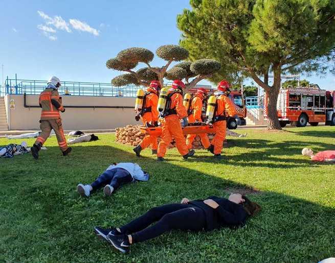 El Gobierno regional conoce la experiencia en materia de simulacros de emergencias de otras Comunidades Autónomas