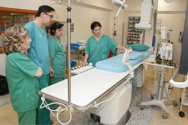 Profesionales de Hemodinámica del Hospital de Guadalajara se forman en el manejo de los nuevos equipos con que cuenta la Unidad