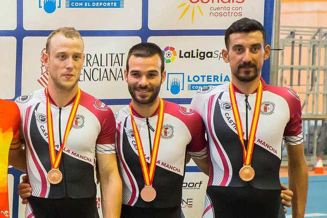 Vicente García de Mateos gana el bronce en el Campeonato de España de Pista 2019