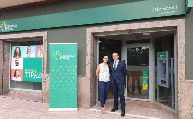 Eurocaja Rural aumenta su red comercial en Alicante con una nueva oficina en Monòver