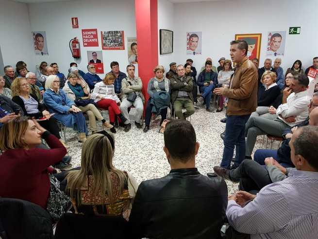 """Cabañero: """"El próximo domingo sólo hay dos alternativas, o un gobierno del PSOE o uno donde esté Vox"""""""