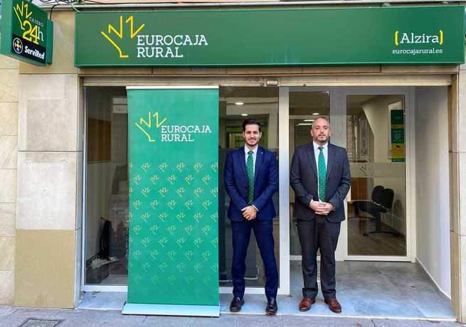 Eurocaja Rural llega a Alzira (Valencia) para ofrecer el servicio diferencial que le caracteriza