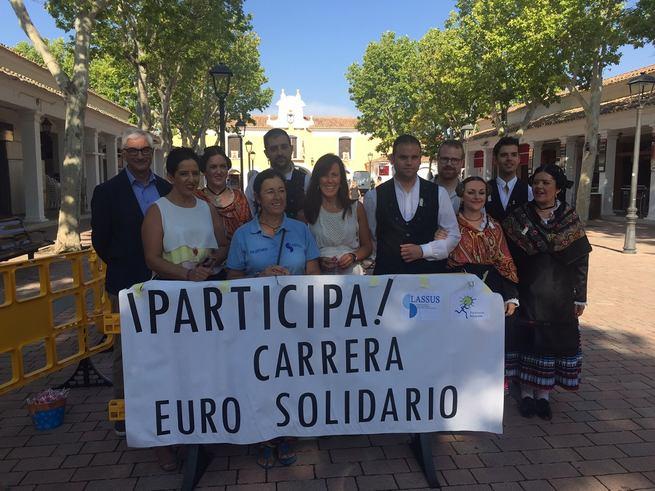 """María Gil asegura que la carrera del Euro solidario ayuda a """"Lassus y Parkinson"""" a seguir trabajando por el bienestar de los albaceteños"""