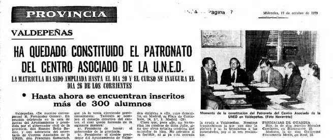40 años de la UNED en Ciudad Real