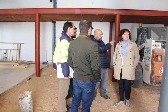 La ampliación de la nueva biblioteca municipal de Alcázar de San Juan estará finalizada en unas semanas