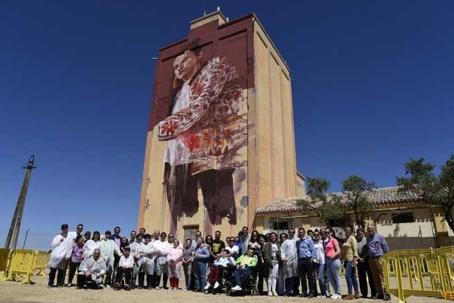 El proyecto Titanes, patrocinado por la Diputación, regresa tras el verano con la intervención de dos nuevos silos en Infantes y Criptana