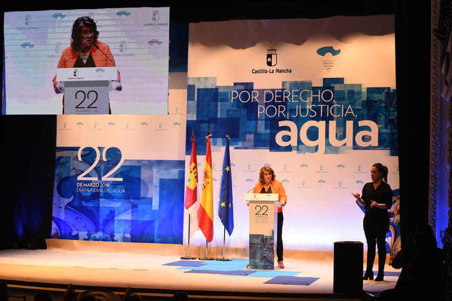 """El Gobierno de Castilla-La Mancha apuesta por la unión para defender el agua en beneficio común de toda la región """"porque aquí no sobra agua, pero sí el trasvase"""""""