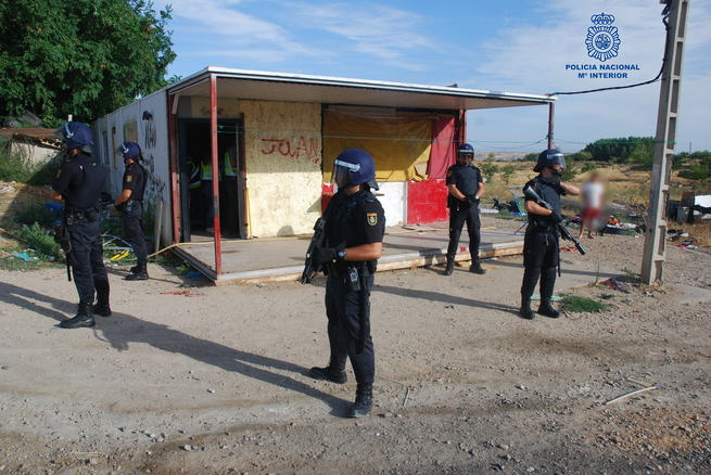 La Policía Nacional detiene a los presuntos autores de 17 robos con fuerza en fincas próximas al Cerro de los Palos
