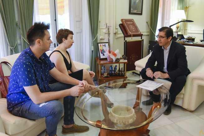 Mejorar los polideportivos e impulsar Manchavino, proyectos que Socuéllamos le ha presentado a la Diputación de Ciudad Real