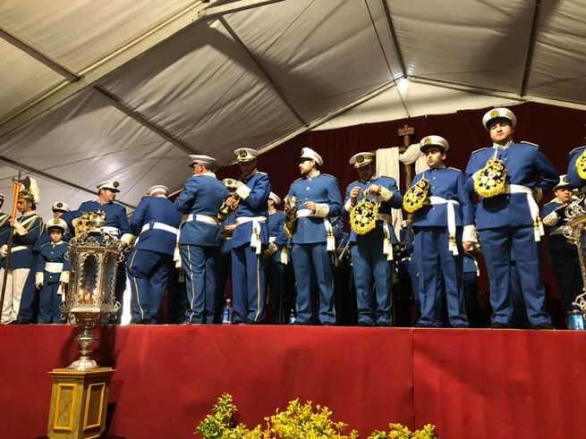 Bolaños se convirtió en la capital de la música cofrade durante el fin de semana acogiendo el XIV Certamen Provincial de Bandas de Cornetas y Tambores