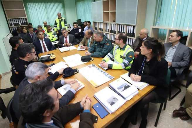 Los delegados del Gobierno en Castilla-La Mancha y en la Comunitat Valenciana han mantenido la primera reunión intercomunitaria de vialidad invernal