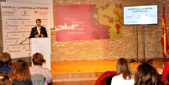El Presidente de la Diputación de Ciudad Real agradece el esfuerzo para que todos unidos muestren en FITUR la potencialidad turística de nuestra tierra
