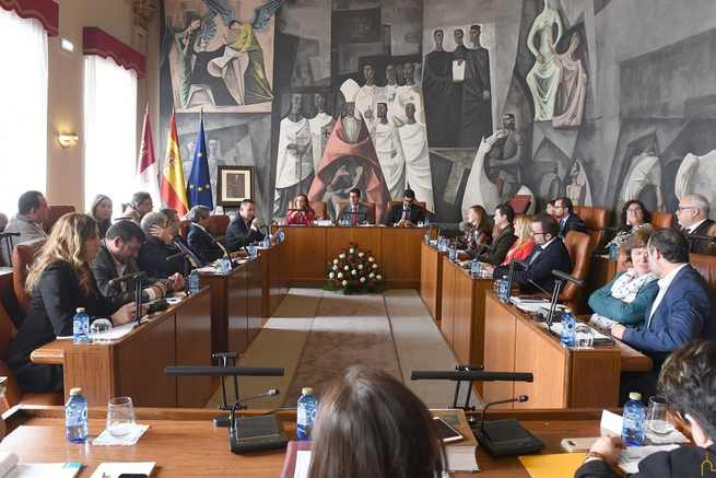 Aprobado el presupuesto de la Diputación de Ciudad Real con 129 millones de euros