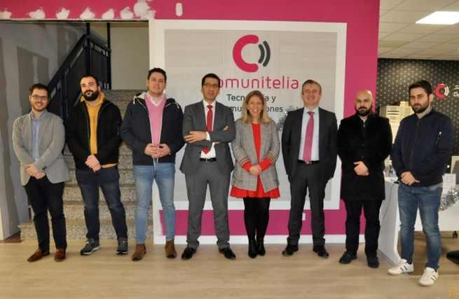El Presidente de la Diputación de Ciudad Real se interesa por las soluciones tecnológicas de Comunitelia para ayudar a los municipios a romper la brecha digital