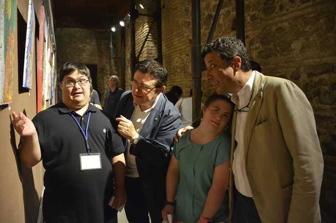 El Ayuntamiento de Toledo respalda la muestra 'in-culcARTE' con la que jóvenes de Down Toledo hacen un llamamiento a la inclusión