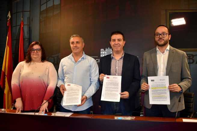 El acuerdo entre PSOE y UP-IU que posibilitará la aprobación de los Presupuestos de la Diputación de Albacete para 2020
