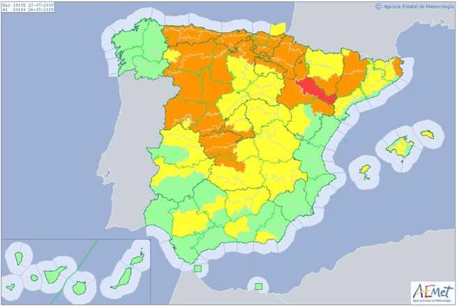 El Gobierno de Castilla-La Mancha recuerda la necesidad de extremar la prevención de incendios en plena ola de calor