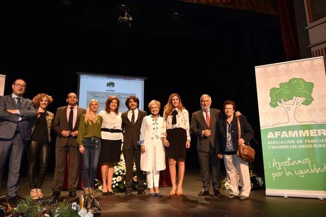 Reconocimiento de Afammer a la manzanareña Manoli Merlo