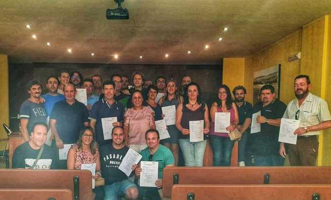 El Gobierno de Castilla la Mancha impulsa en Castellar de Santiago la formación especializada en materia de medio ambiente y agraria