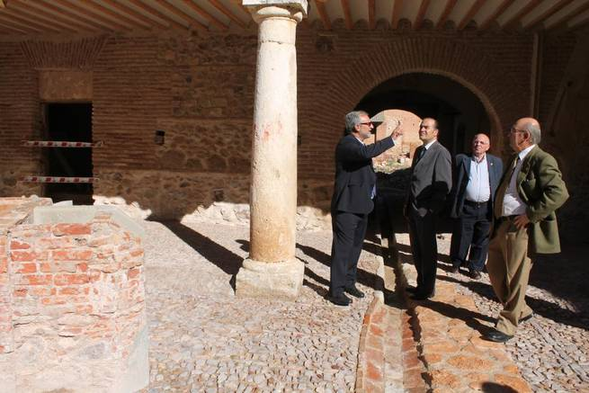 Imagen: Gregorio destaca el esfuerzo inversor del Gobierno de España para recuperar el patrimonio histórico de Castilla-La Mancha