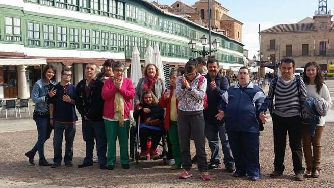 Imagen: El Centro Ocupacional de Manzanares realizó un viaje a Almagro
