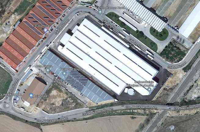 Fallece un trabajador tras precipitarse desde un tejado en Alovera (Guadalajara)