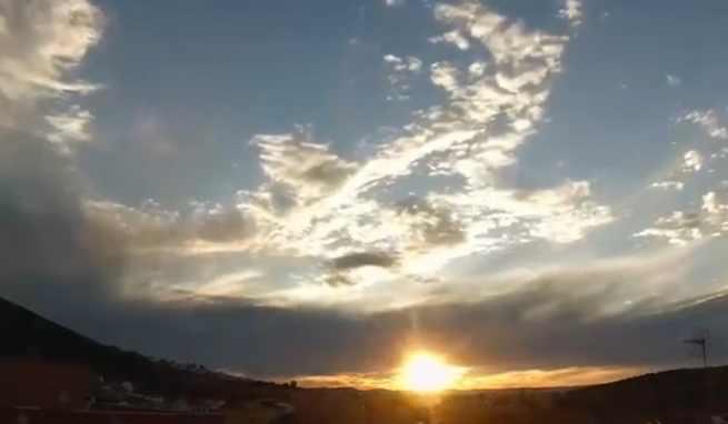 Video timelapse: Atardecer en Puertollano