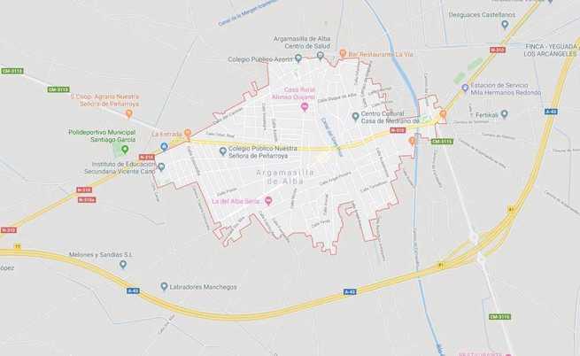 Fallece un hombre de 86 años en Argamasilla de Alaba tras sufrir una caída mientras conducía una bicicleta
