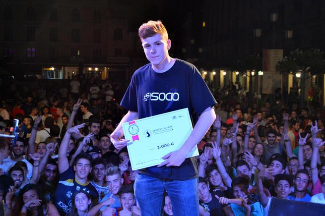 """Imagen: El rapero malagueño BTA se alza  con la final española de """"Cervantes en Rap"""""""