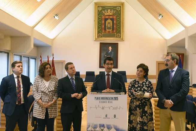 """La Diputación de Ciudad Real cumple los compromisos adquiridos en el marco del Plan de Modernización """"Ciudad Real 2025"""""""
