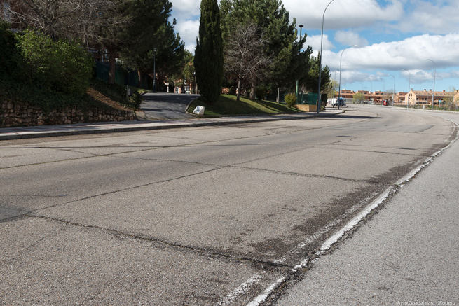 El Ayuntamiento de Guadalajara renovará el asfalto de la Avenida de la Salinera el próximo mes