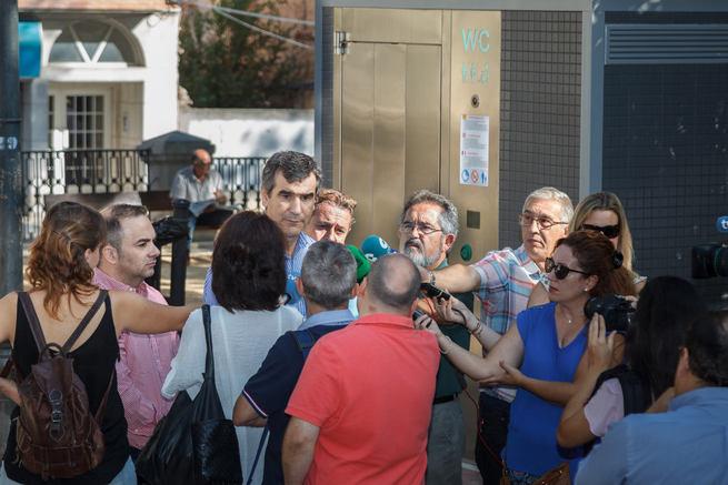 Instalados en Guadalajara cinco nuevos aseos autolimpiables en la ciudad