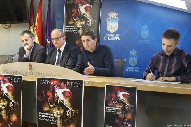 El 8 y 9  de marzo, Guadalajara será la capital de Patinaje Grupos Show