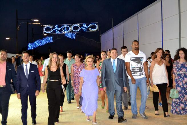 Imagen: El jugador de balonmano, Didier Dinart, destaca su profunda vinculación con Calzada de Calatrava al abrir las Fiestas del Jubileo