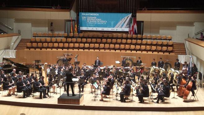 """Imagen: La Agrupación Musical de Calzada de Calatrava participó en la 129 edición del Certamen Internacional de Bandas de Música """"Ciudad de Valencia"""""""